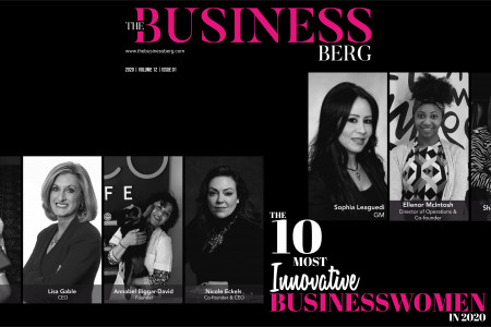 The 10 Most Innovative Businesswomen in 2020 December 2020. Infographic