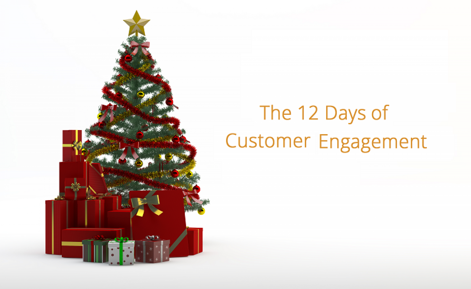 The 12 days of customer engagement Infographic