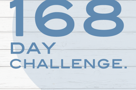 The 168-Day Challenge Infographic