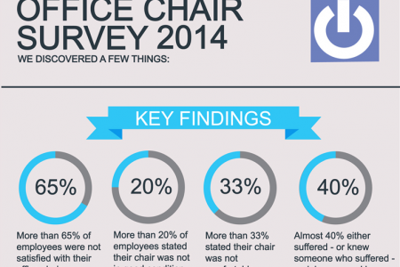 The 2014 Office Chair Survey Infographic