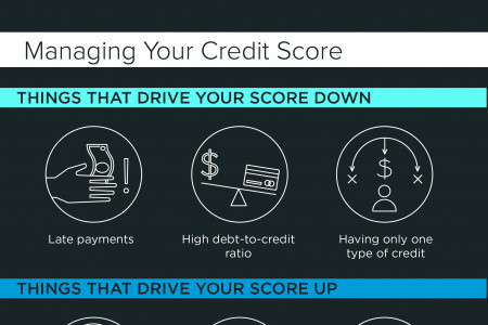 The 411 on Your Credit Score Infographic