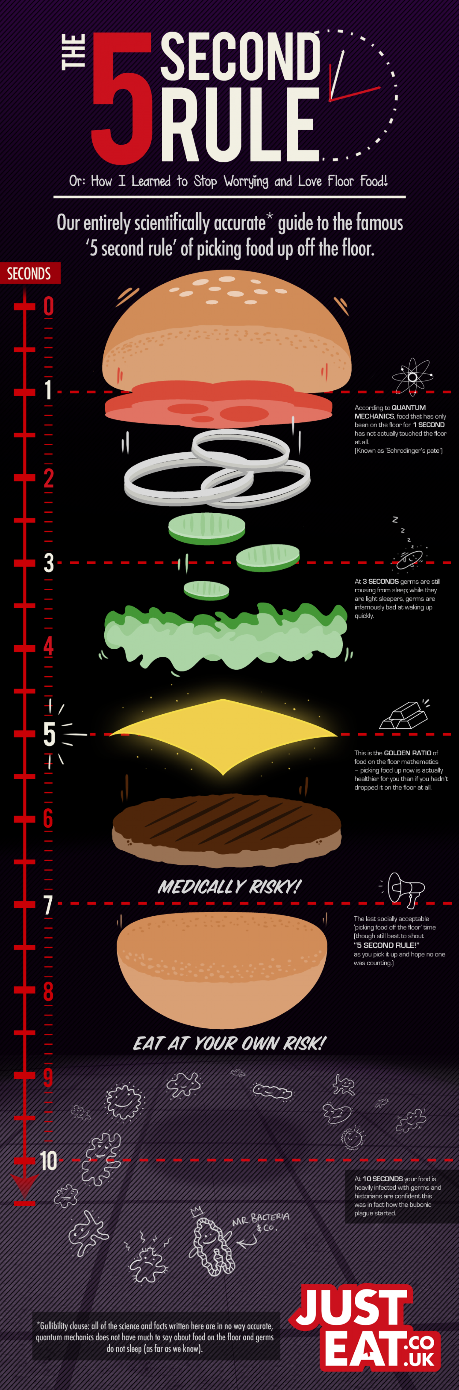 The 5 Second Rule Infographic