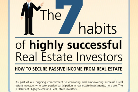The 7 Habits of highly successful Real Estate Investors Infographic