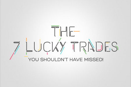 The 7 Lucky Trades You Shouldn't Have Missed! Infographic