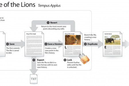 The Age of Lions Templas Applus  Infographic