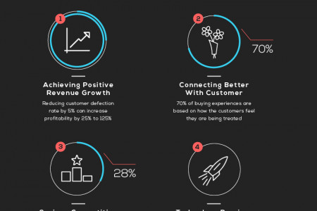 The Age of The Customer Experience Infographic