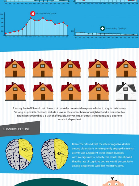 The Aging Population, Issues, Problems and the Future. Infographic