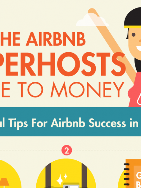 The Airbnb Superhosts Guide To Money Infographic