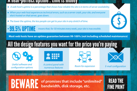 The Anatomy of a Terrible Web Host Infographic
