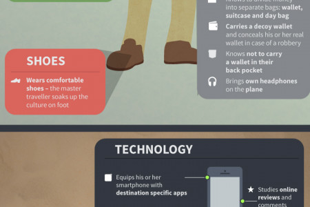 The Anatomy of the Master Traveller Infographic