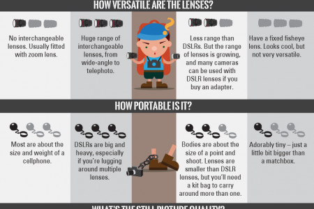 The Backpacker's Dilemma: What Kind of Camera Should You Take Traveling? Infographic