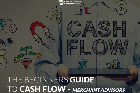 THE BEGINNERS GUIDE TO CASH FLOW   MERCHANT ADVISORS Infographic