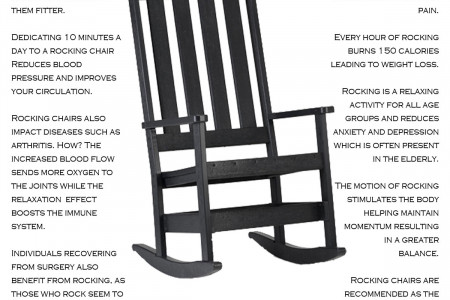 The Benefits of a Rocking Chair  Infographic