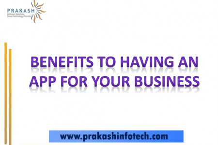 The Benefits of Having an App for Your Business Infographic