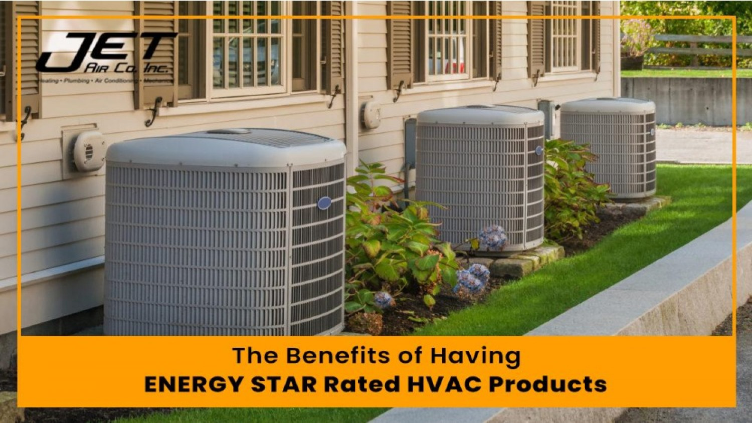 The Benefits of Having ENERGY STAR Rated HVAC Products Infographic