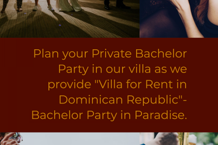 The Best Bachelor Party Place in Dominican Republic Infographic