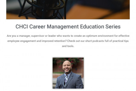 The Best Career Management Education Series by CHCI Infographic