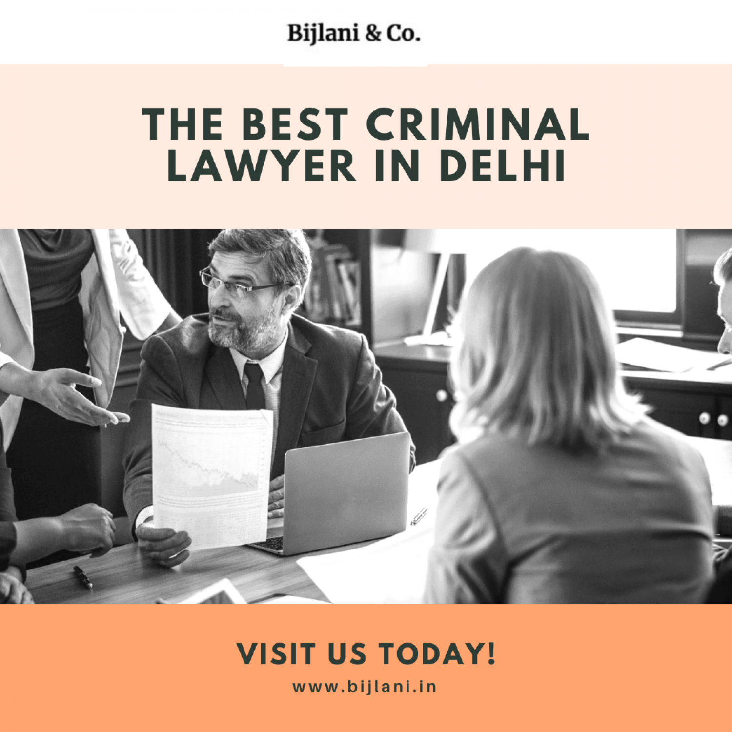 The Best Criminal Lawyer in Delhi Infographic