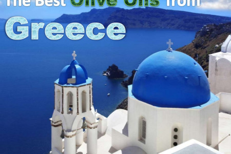 The Best Olive Oils From Greece - Top Brands List Infographic