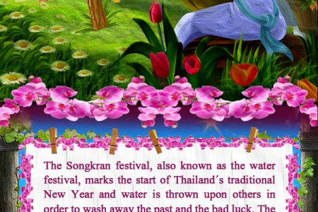 The Best Spring Festivals of 2014 from Around the World Infographic