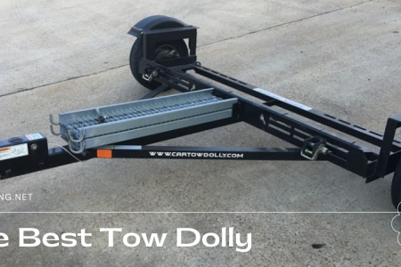 The Best Tow Dolly Infographic