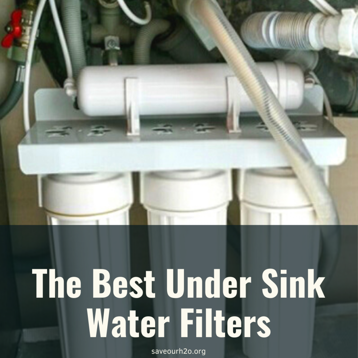 The Best Under Sink Water Filters for 2021 Infographic