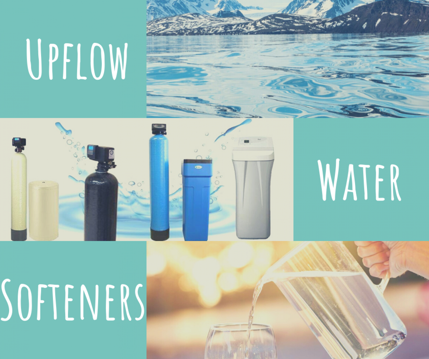 The Best Upflow Water Softeners for 2020 Infographic