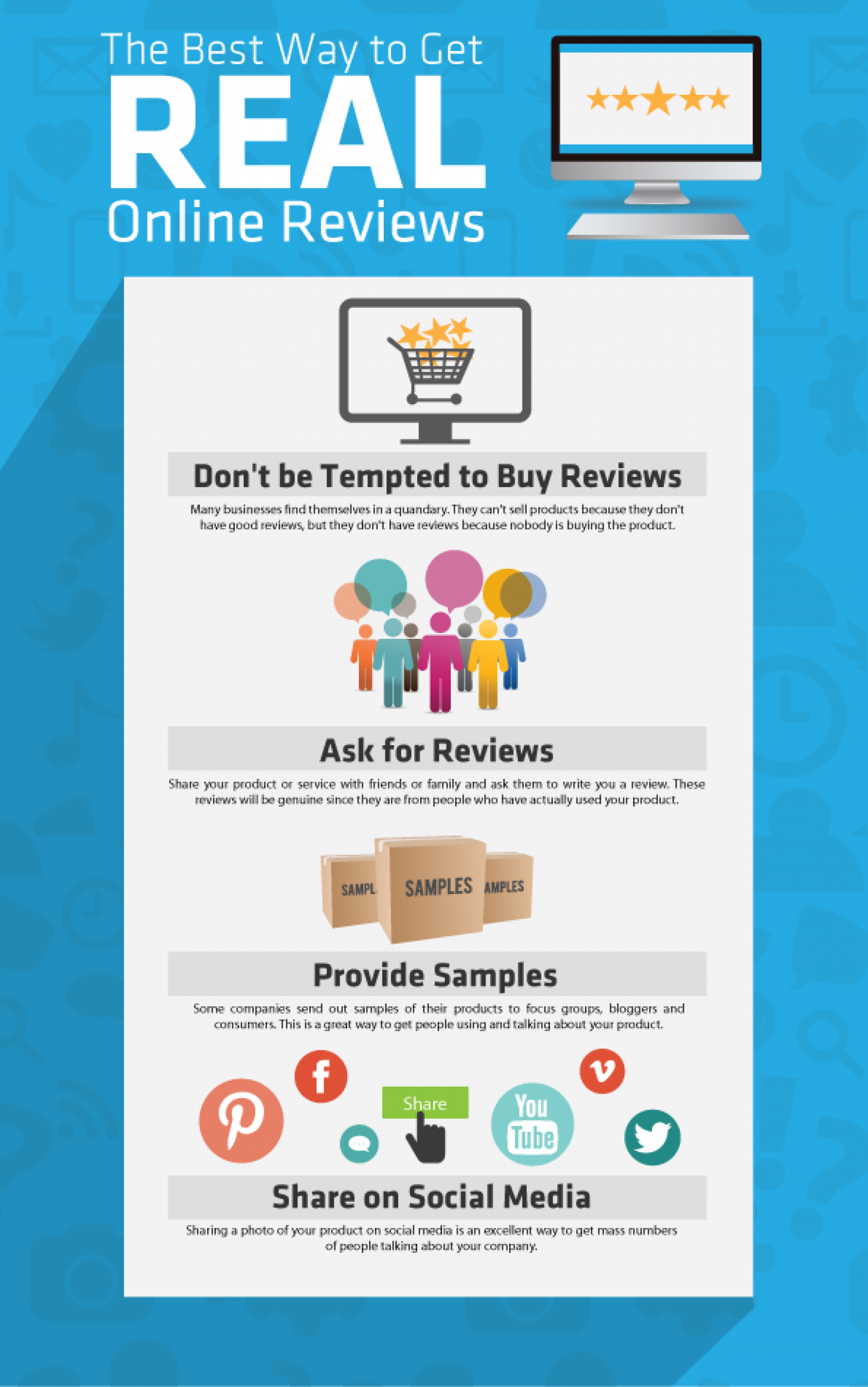 The Best Way to Get REAL Online Reviews