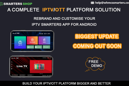 THE BIGGEST NEW UPDATE OF IPTV SMARTERS APP IS COMING OUT SOON  Infographic