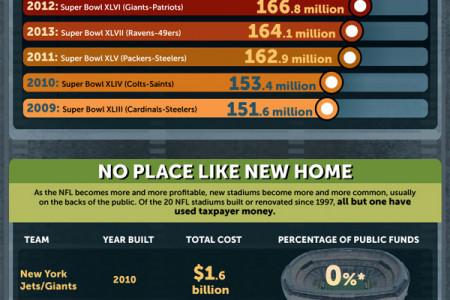 The Business of the NFL Infographic