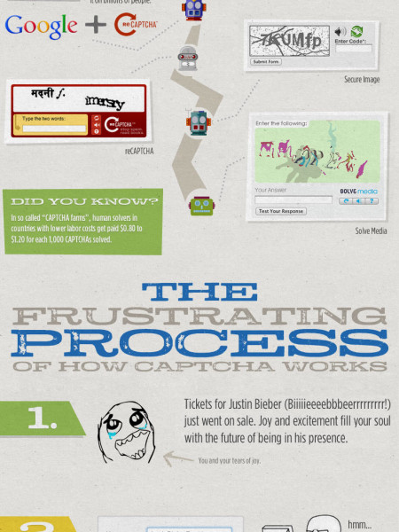 The CAPTCHA Madness Infographic