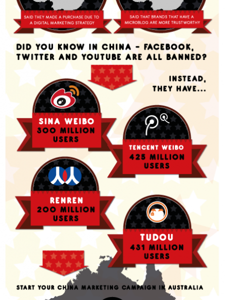 The Chinese Social Media Landscape Infographic