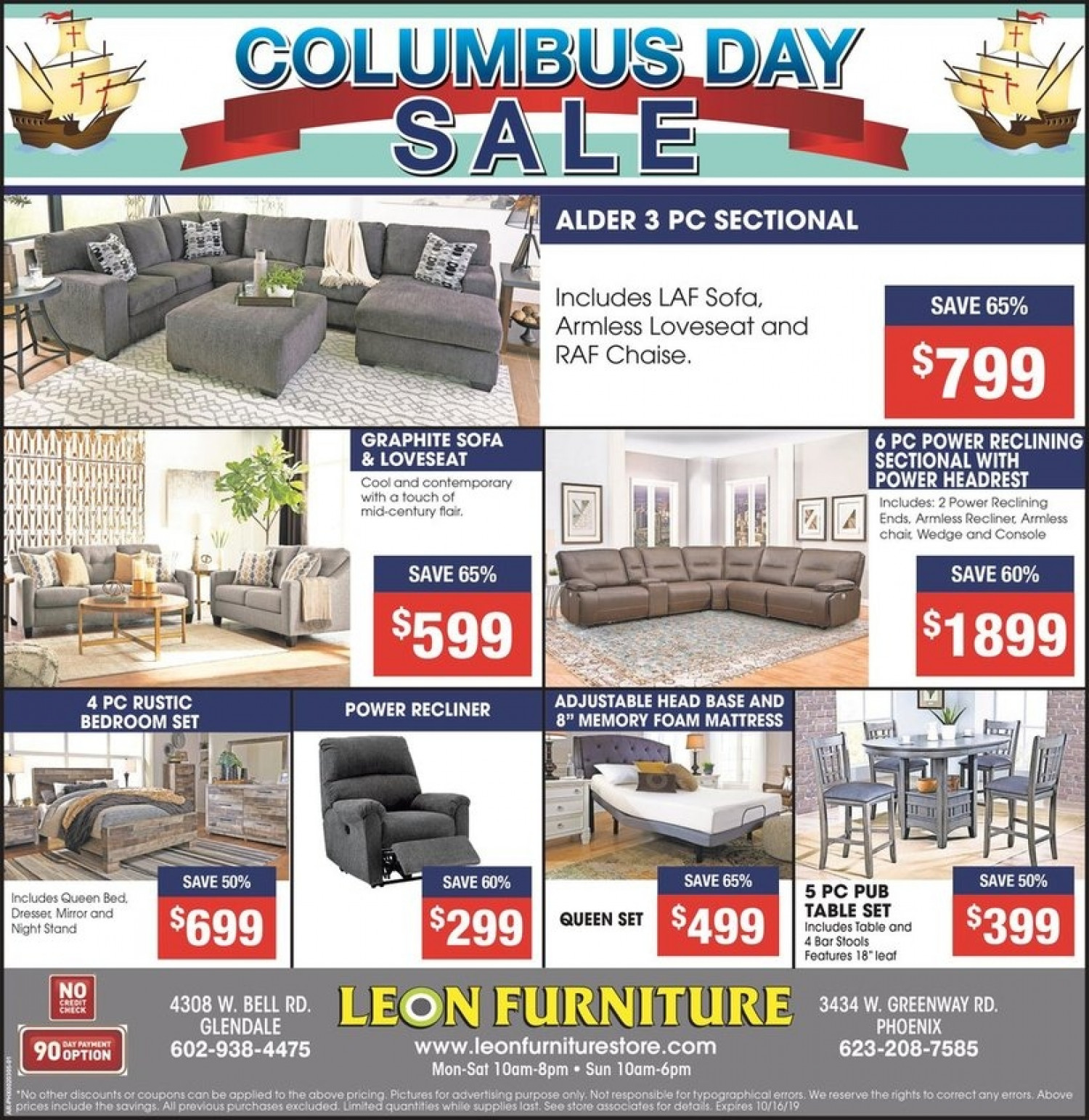The Columbus Day Sale is still on.... Infographic