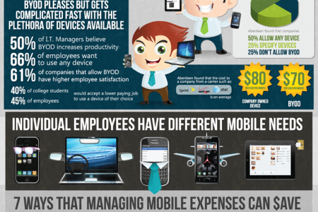 The Cost of BYOD Infographic
