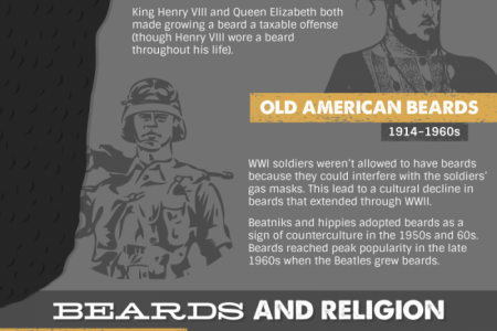 The cultural significance of beards throughout history Infographic