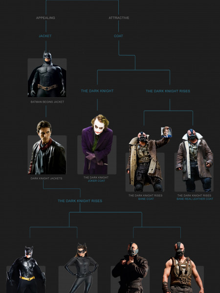 Which Dark Knight Character Are You Infographic