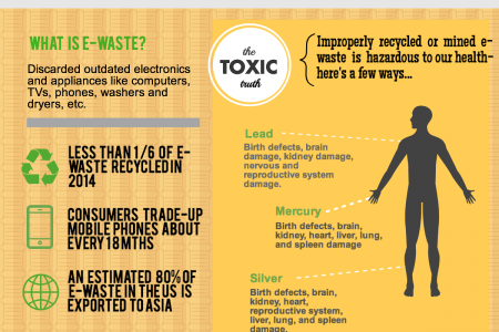 The Dark Side of the Digital Age: E-Waste Infographic