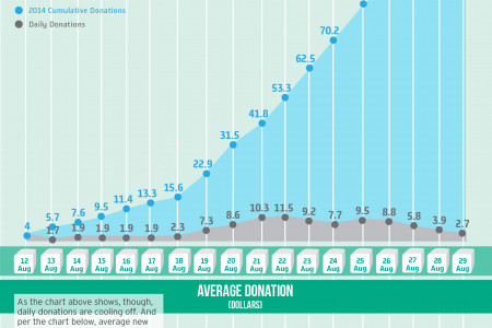 The Data Behind the ALS Ice Bucket Challenge Infographic