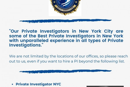 The detective and private investigator in Long Island NY Infographic