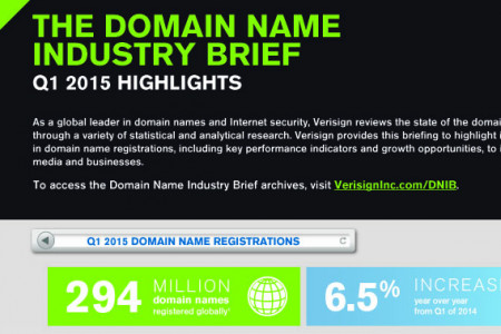 The Domain Industry Brief: Q1 2015 Highlights Infographic