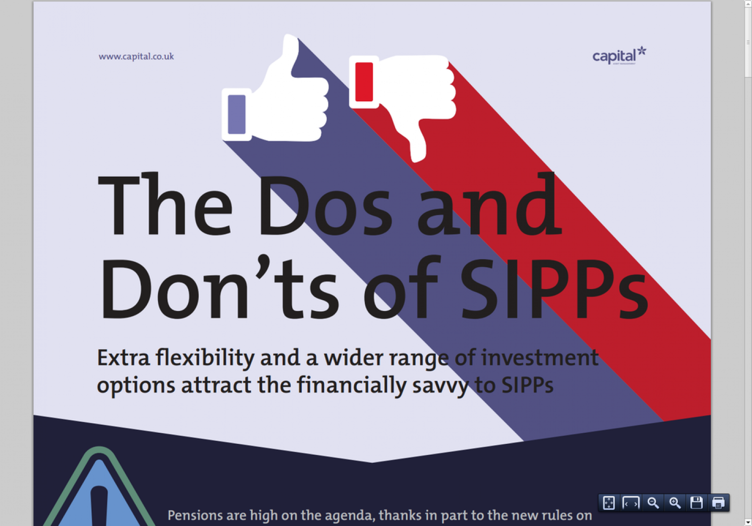The Dos and Don'ts of Sipps Infographic