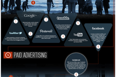 The Dynamic Digital Marketing Landscape Infographic