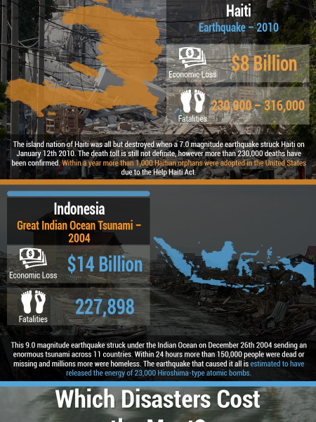 The Economic Toll of Natural Disasters  Infographic