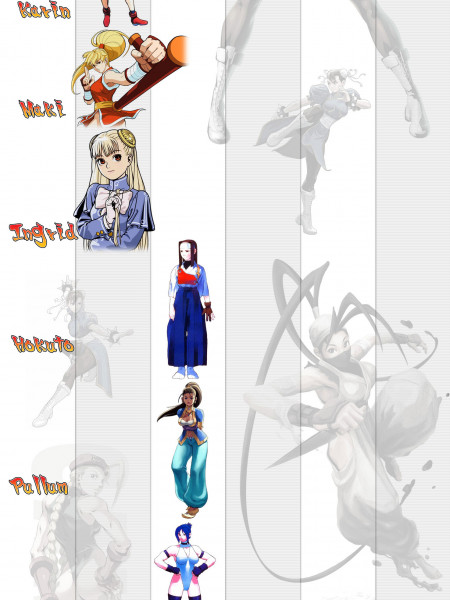 The Evolution of Street Fighter Women  Infographic