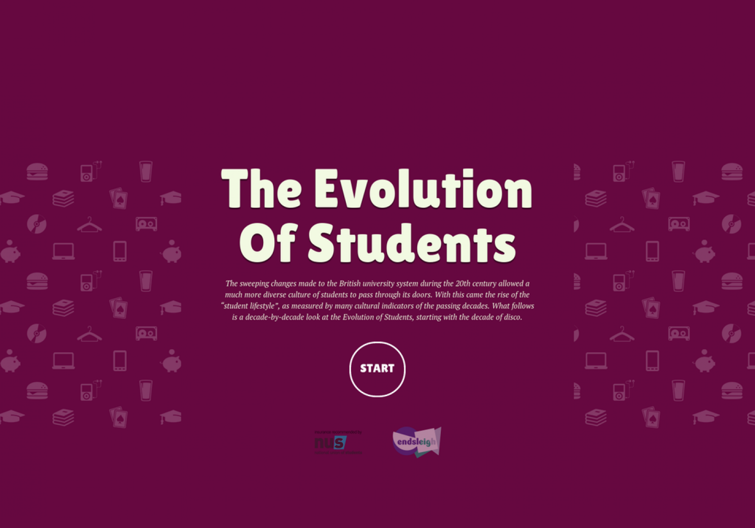 The Evolution of Students  Infographic