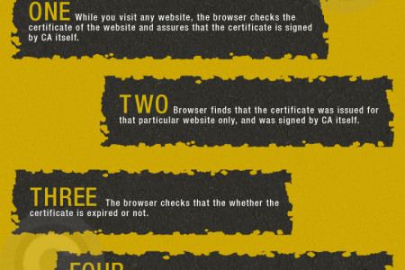 The Facts of Website Security indicator - SSL Padlock Infographic