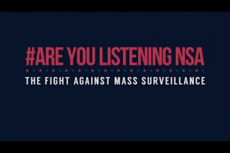 The Fight Against Mass Surveillance Infographic