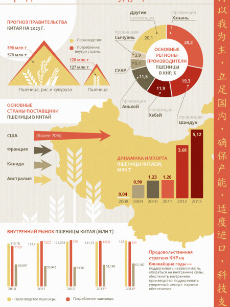 The Future of Chinese Food Market Infographic