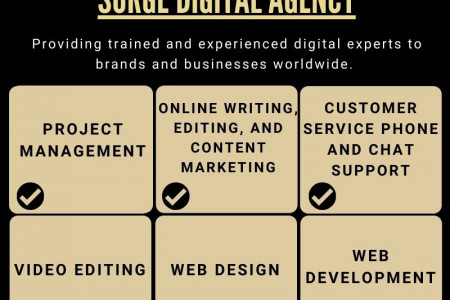 The Future of Freelancing   Surge Digital Agency Infographic