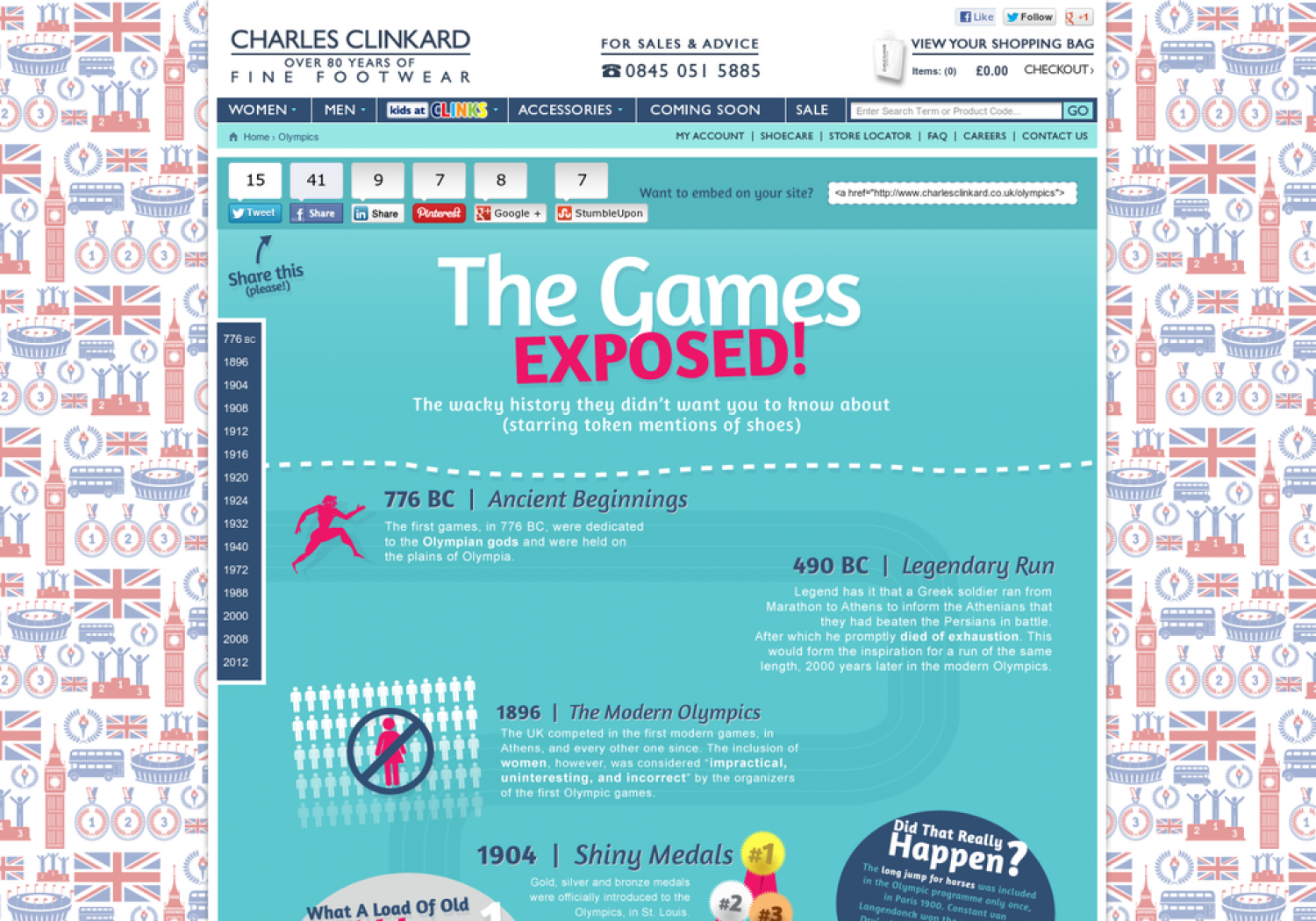 The Games EXPOSED! Infographic
